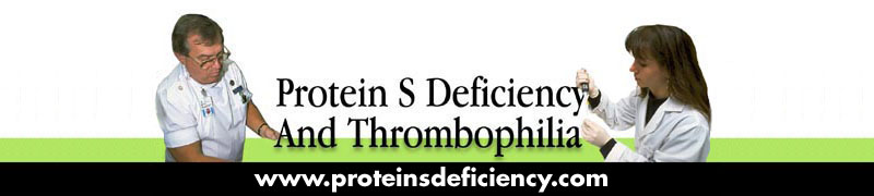 Protein S Deficiency and Thrombophilia